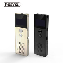 REMAX Professional Audio Recorder Business Portable Digital  Business Voice Recorder Support Telephone Recording MP3 Player