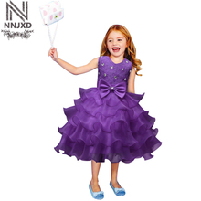 Christmas Costume infant dress girl For toddler girls Clothes kids Dresses Summer birthday 6 7 8 party girl princess tutu dress(China)