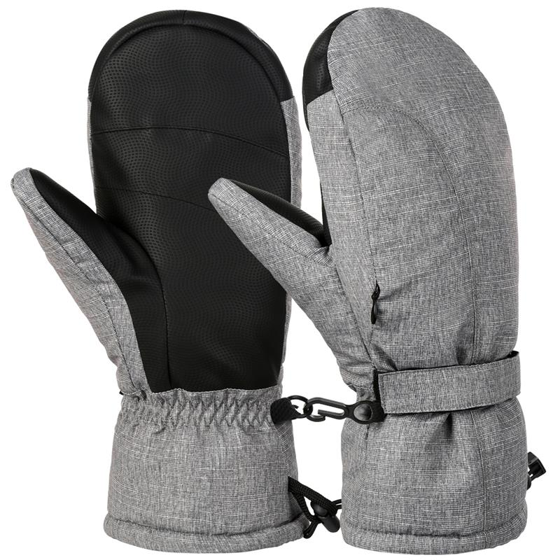 Women Gloves Thicken Winter Warm Fleece Lined Outdoor Sports Mittens Soft Comfy