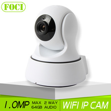 1.0MP HD 720P WIFI IP Camera Night Vision Home Baby Monitor Two Way Audio P2P Cloud View CCTV Surveillance Security Smart Camera