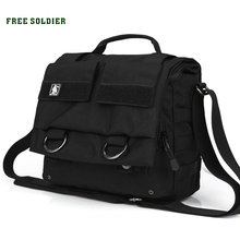 FREE SOLDIER outdoor sports tactical bag men's nylon shoulder Hiking&Camping camera bags