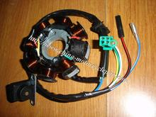 Scooter Moped ATV Go Kart GY6 125 GY6 150 cc 152QMI 157QMJ 8 pole 5 wire DC magneto stator(China)