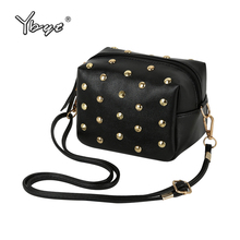 women mini fashion luxury clutch ladies mobile evening purse famous designer new rivet casual crossbody shoulder messenger bags(China)