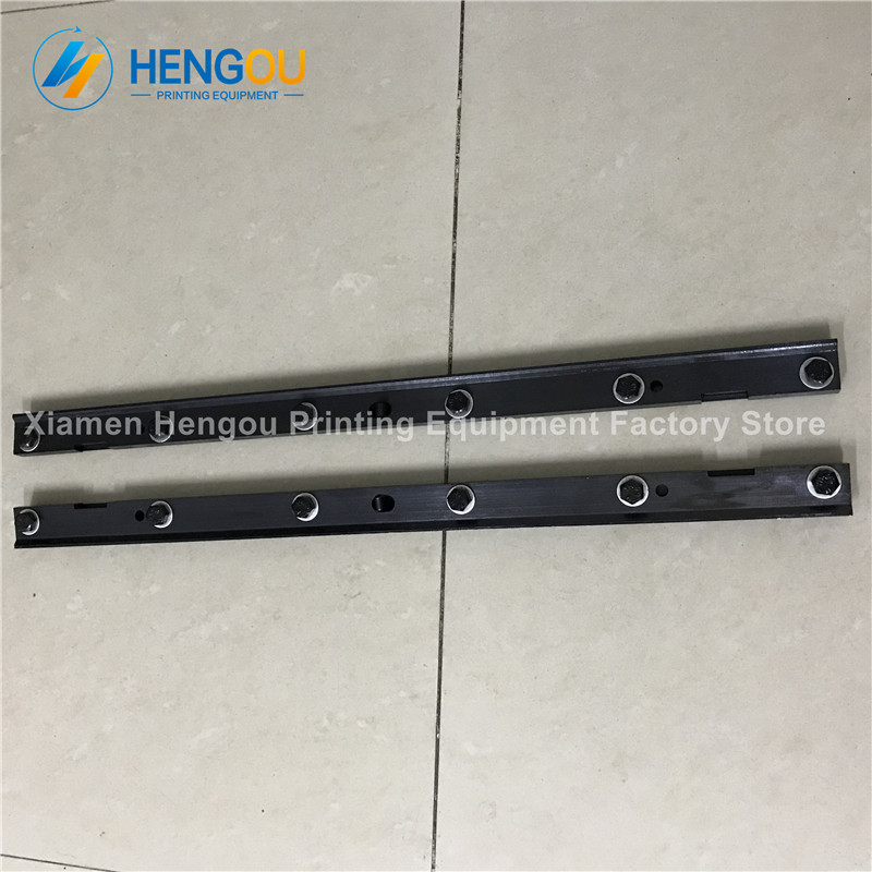 Offset printing machinery part plate clamp, Hengoucn SM52 blanket plate clamp