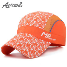 [AETRENDS] 2017 Summer Baseball Cap Mesh Breathable Snapback Hat Trucker Caps Men Women Summer Mesh Hat Z-5096