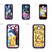 Pokemons Leafeon Evolutio For Moto E2 E3 D1 D3 G G2 G3 G4 G5 PLUS X X2 Play For Nokia 550 630 640 650 830 950 Cell Phone(China)