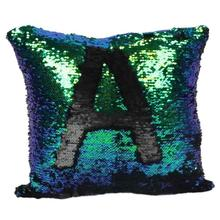 Mermaid Sequins Cushion Cover Novelty Glitter Sequins Shinning Pillow Case Decoration Room Sofa Coffee Shop Hotel Pillow Cover(China)