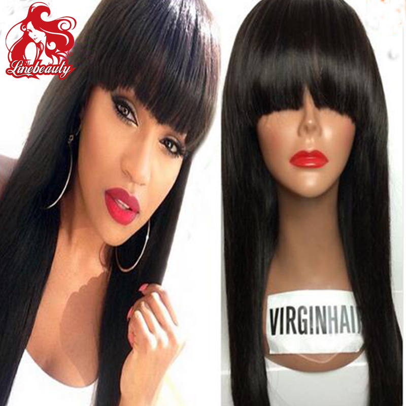 Synthetic Hair Natural Wigs Girls Fashion Style Straight Black Long Hair Wigs Synthetic Heat Resistant Wig<br><br>Aliexpress