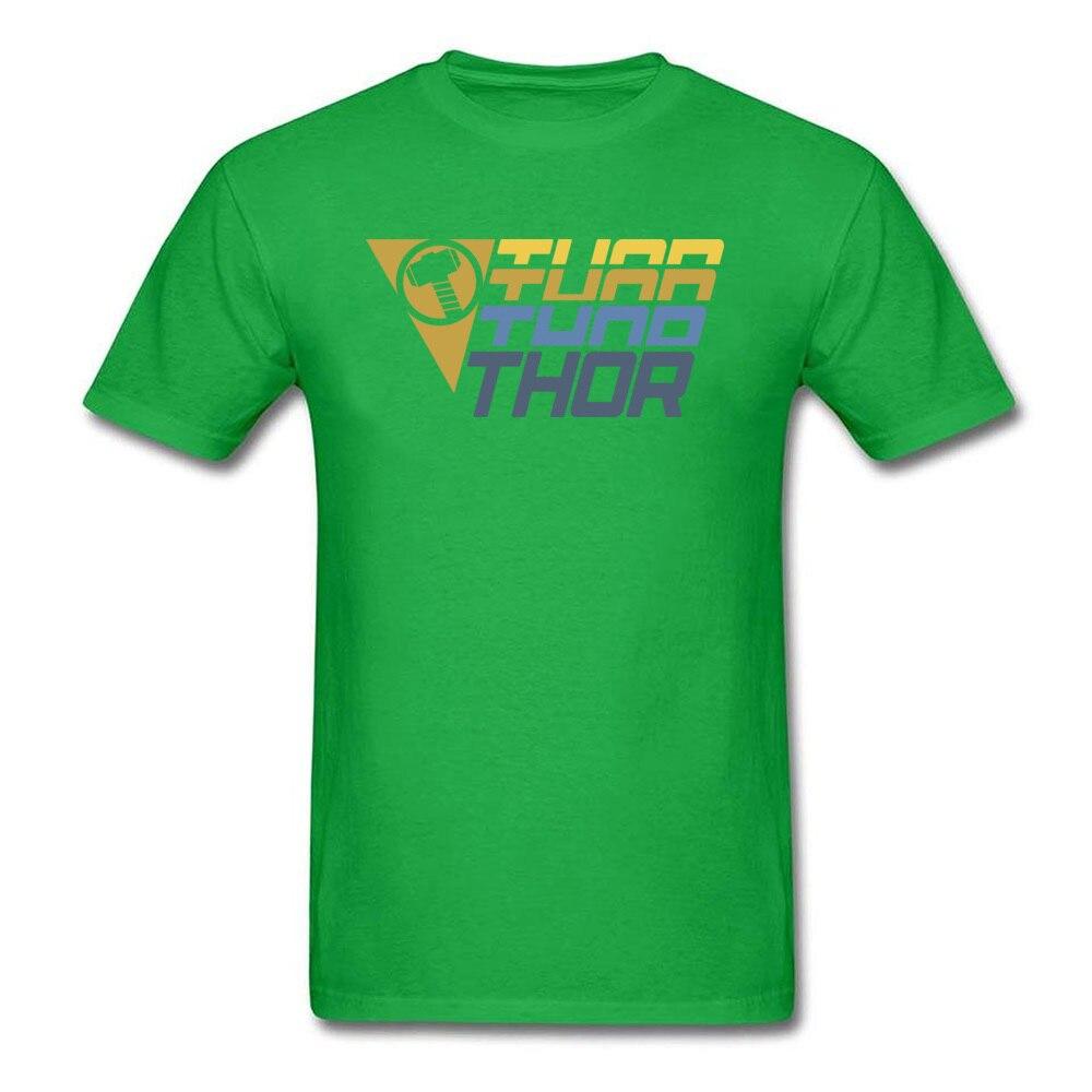Star Wars Thor Logo Cotton Men Short Sleeve Tops & Tees Funny NEW YEAR DAY T Shirts Geek Tshirts Designer O Neck Thor Logo green