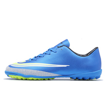 New Soccer Shoes Indoor Outdoor Flat Tr Ag Turf Small Nail Football Training Shoes Grass Soccer Shoes Men's Football Shoes Men