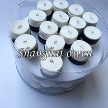 Wholesales 120 pcs White NO Logo OEM/YY Tennis grip, Anti-skid Sweat Absorbed badminton grip dry feel soft over grips
