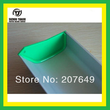 TJ 8 inch Aluminum Emulsion Scoop Coater With Ears For Screen Printing(Length=20CM)