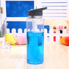 Buy 700Ml Plastic Sport Drinking Water Bottle Space Copa Bike Outdoor Straw Direct Drinking Shaker Eco-friendly kettle Gift for $2.56 in AliExpress store
