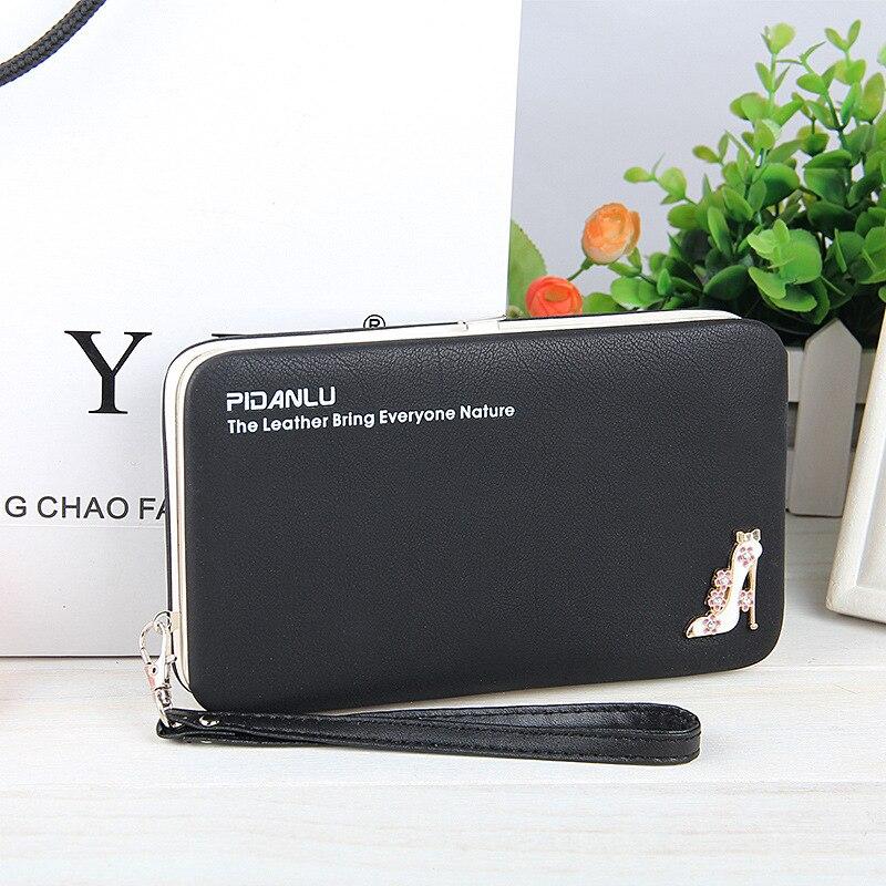 Wallet Purse Universal Phone Case Black