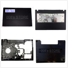 New Top LCD Back Cover/Bezel/Palmrest/Bottom Base Case/Hinges For Lenovo G500 G505 G510 G590 Front Bezel Upper Laptop
