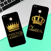 King Queen Case For Xiaomi Redmi 3 3S 4A 4X 4 4S Note 3 Note 4 Note 4X