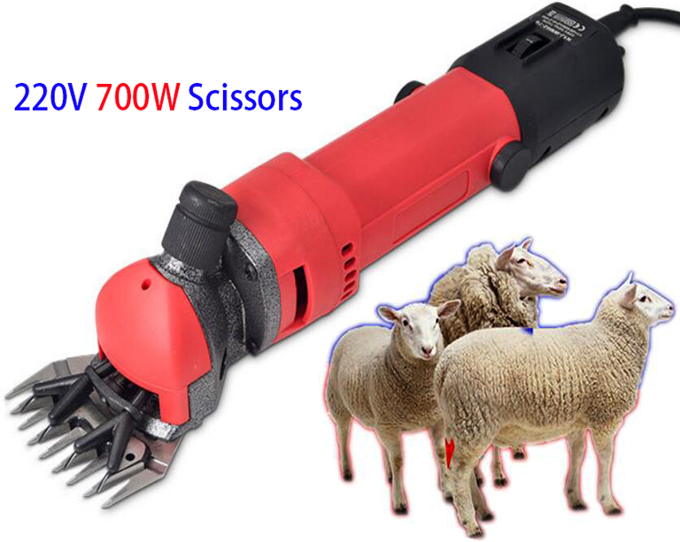 1500W Electric Shearing Clippers Shears For Sheep Goat Trimmer Machine w// Blade