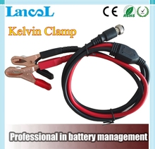 Kelvin Clamp and auto battery tester cable for car battery tester