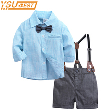 e8446a55a005b Children Clothing Sets Toddler Suit Baby Boy Clothes 2019 Autumn Newborn  Baby Sets Infant Clothing Gentleman