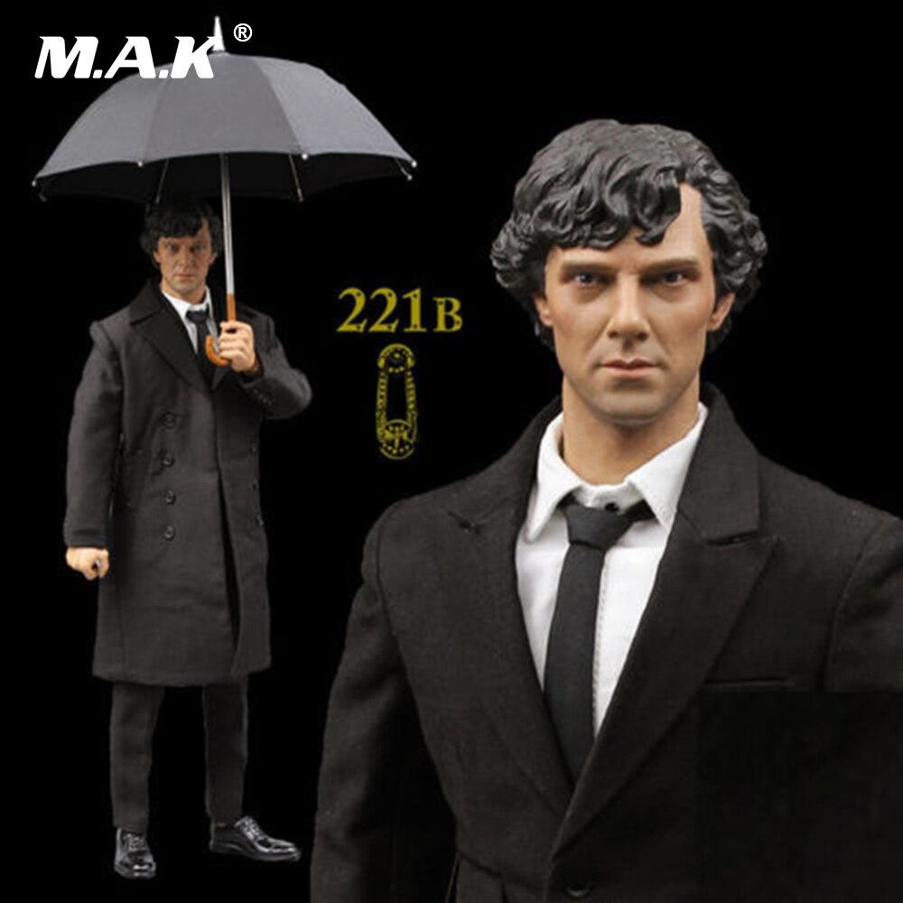 1/6 Scale Benedict Cumberbatch Sherlock Head Carved Male Head Toy Figure Accessories F 12man figure body <br>