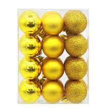 24Pcs Christmas Balls Baubles Party Xmas Tree Decorations Hanging Ornament Decor Christmas supplies #GHE5(China)