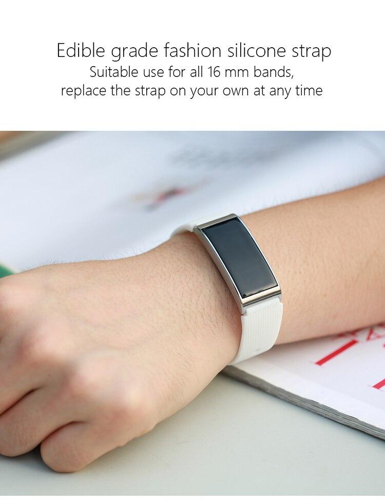 Microwear X3 IP68 Waterproof smart fitness bracelet pedometer blood pressure smart wristband Android iOS fitness tracker 18