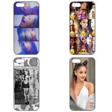 Fashion Phonecase Shell Bag Ariana Grande Collage For Samsung Galaxy S3 S4 S5 Mini S6 S7 Edge Note 2 3 4 5 A3 A5 A7 A8 J1 J5 J7