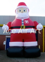 20 feet H inflatable Christmas advertising decoration inflatable Santa Claus