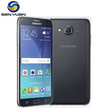 Original Samsung Galaxy J7 J700F J700H Dual Sim Unlocked Cell Phone octa core 1.5GB RAM 16GB ROM j7 phone(China)