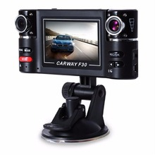 "2.7"" LCD HD 1080P Dual Lens Car DVR Rear View Vedio Camera Recorder Dash Cam Sports Action Video Cameras"