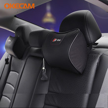 OKECAM Audi A6 C5 C6 C7 C4 4F 4G 4A 4B S6 RS6 Quattro Allroad S line Sline Memory Foam Car Headrest Pillow Neck Back Pillow