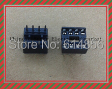 20PCS  8pin DIP IC sockets Adaptor Solder Type 8 pin