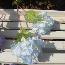 Blue Silk Flower Branch Artificial Hydrangea Wedding Home Office Decoration For Valentine's Christmas Special Price