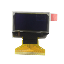0.96 inch 128X64 Blue OLED Display 128*64 LCD Screen Board 30pin SSD1306 driver Passive Matrix for arduino DIY KIT(China)