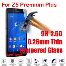 Cheap Anti-Explosion 9H 2.5D 0.26mm Phone Accessories Glass Screen Protector For Sony Xperia Z5 Premium Plus E6853 Dual E6883