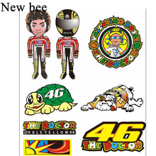 Newbee 46 VR46 The Doctor Helmet Decal Valentino Rossi Reflevtive Motorcycle Sticker Racing Motorcross Car Styling For Yamaha(China)