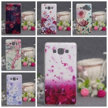 For Samsung Galaxy A7 2015 Case Covers 3D Stereo Relief Painting Back Cover for Samsung A7 A700 A700F Silicon Mobile Phone Cases(China)