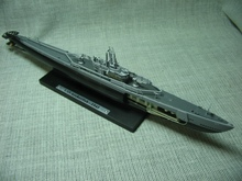 rare ATLAS 1: 350 American water fish number Alloy submarine model Searches the letter Collection model Holiday gifts
