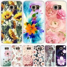 peony sunflower Flower daisy cell phone case cover for Samsung Galaxy A3 A310 A5 A510 A7 A8 A9 2016 2017