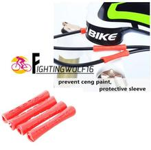 1 pc MTB Bicyle Bike Brake Wire End Cap Cable Sets Protective Sleeve Pipe Protector Housing Cover Rubber Shift Brake Cover