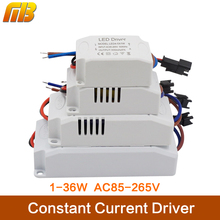 [MingBen]AC85-265V 1-36*1W LED Constant Driver 3W 6W 9W 12W 18W 24W 36W Power Supply Light Transformers for LED Strip Downlight(China)