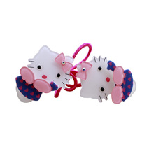 2017 hair accessory hello Kitty hair clip side-knotted clip hairpins child accessories multicolor wholesale Factory direct sale(China)
