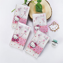 Lovely Hello Kitty Pink 3.5mm In-Ear Stereo Earphones Hellokitty Earbud Headset With Microphone For Phones xiaomi samsung