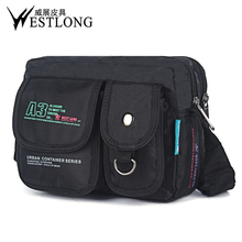 3676 Men Messenger Bags Casual Multifunction Small Travel Bags Waterproof Fashion Shoulder Military Crossbody Bags