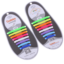 16Pc/Set Unisex Women Men Athletic Running No Tie Shoelaces Elastic Silicone Shoe Lace All Sneakers Fit Strap Foot Care Tools