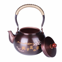 Buy 1.5L Chinese Green Tea Pot Copper Drinking Kettle China Teapot Puer Tea Oolong Tea Handmade Kettle Pot Boiling Water for $63.43 in AliExpress store