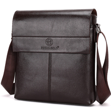 New collection 2015 fashion men bags, men casual leather messenger bag, high quality man brand business bag men's handbag(China)
