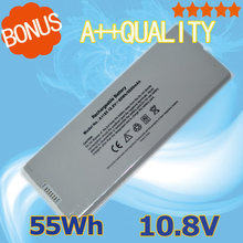 "Silver  55Wh 10.8V  Battery For Apple  A1181 A1185 MA566  MA566FE/A MA566G/A MA566J/A  MacBook 13"" A1181 MA472 MA701"