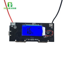 DIY 6 Charge LCD Screen 18650 Mobile Power Box Motherboard Kit Power Bank drive plate DIY Power pack circuit board Dual USB 5V2A(China)
