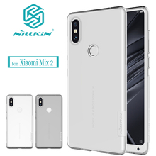 Buy Nilkin Capa Xiaomi Mi Mix 2S Case Nillkin Nature Soft Silicone TPU Transparent Clear Phone Bag Back Cover Xiaomi Mix 2S for $6.99 in AliExpress store